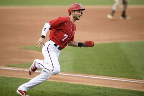 Nats star Turner tests positive for COVID-19, exits game