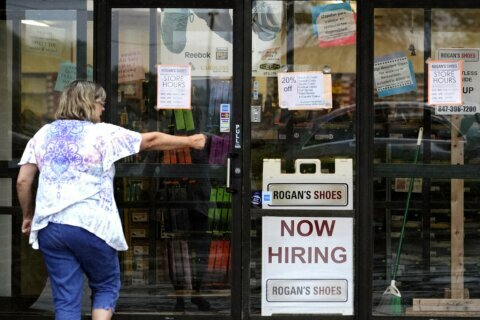 Virginia is trailing Maryland for job growth