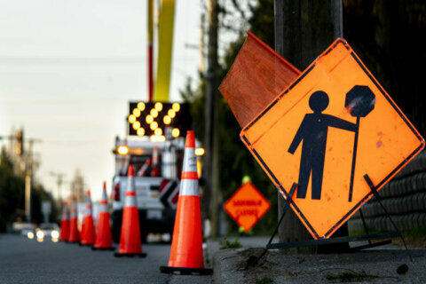 MD 5 lane shift starts Tuesday in St. Mary's Co.