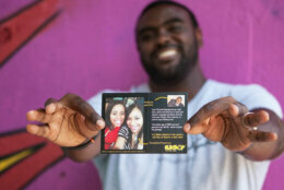 Flikshop allows famililes of incarcerated loved ones to send postcards online with photos and messages. (Courtesy Flikshop)