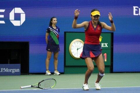 Qualifier to champion: Britain's Raducanu, 18, wins US Open