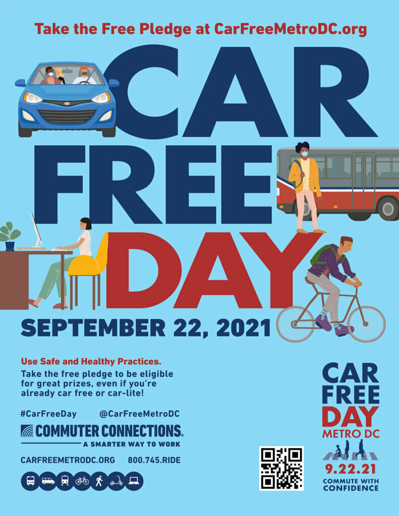 'Car Free' DC is Wednesday