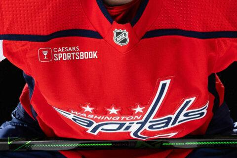 Caps announce Caesars as jersey patch partner