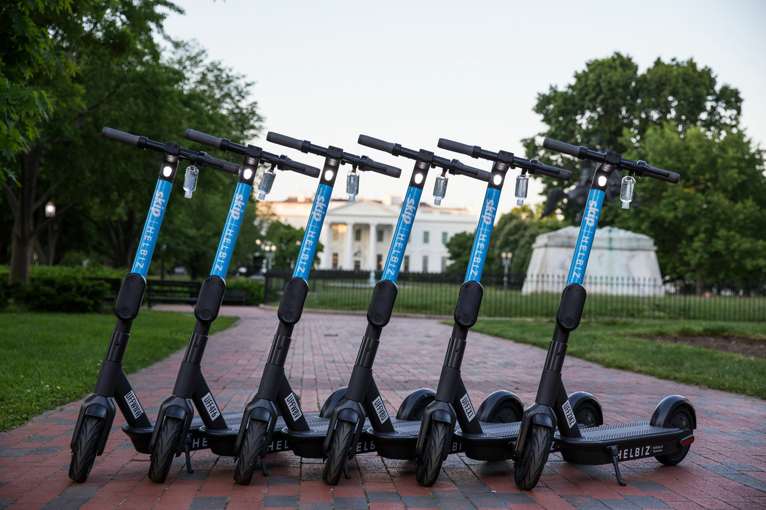 Upcoming DC law aims to stop electric scooters from littering sidewalks