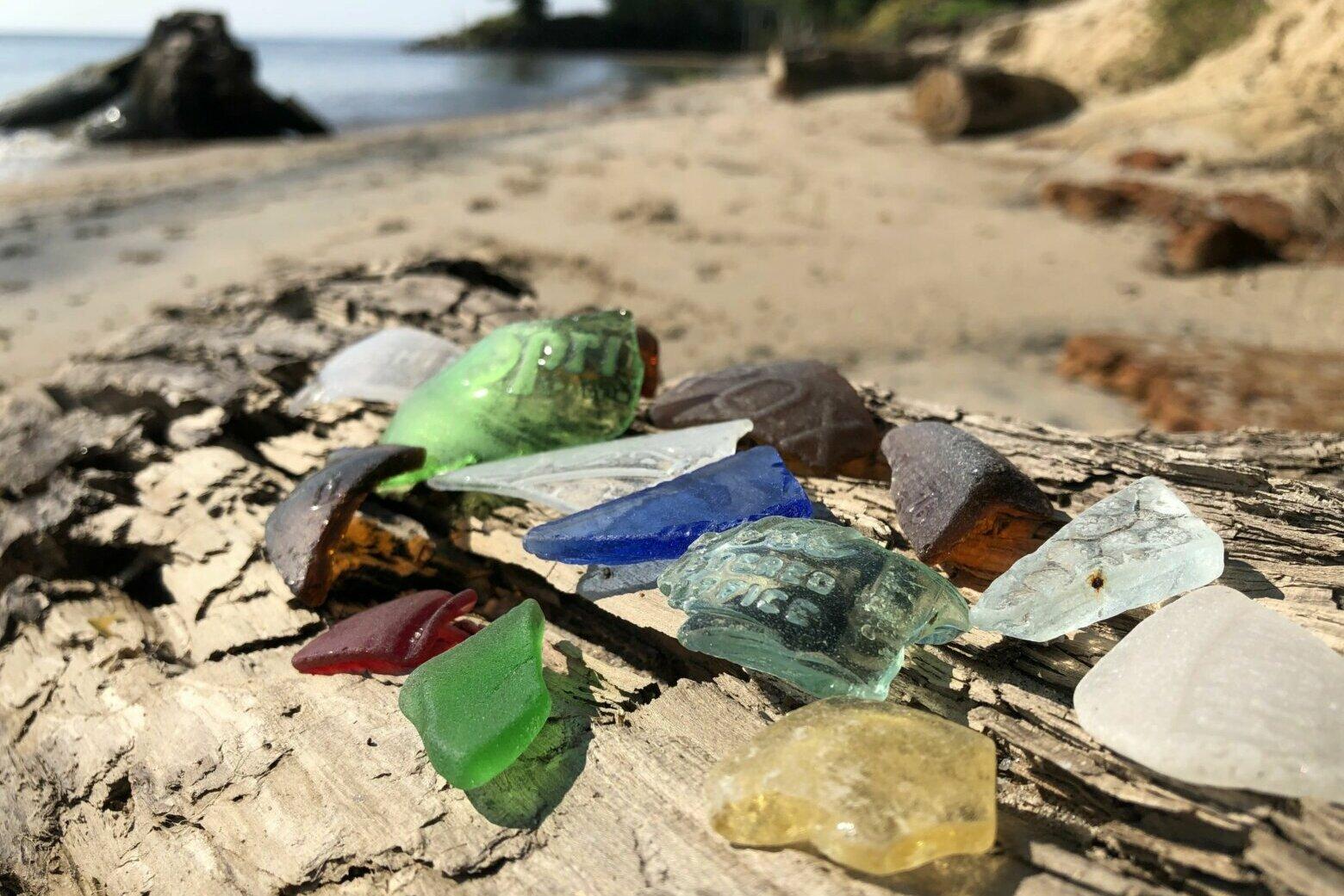 Reach a Chesapeake Bay beach, and get seduced by sea glass
