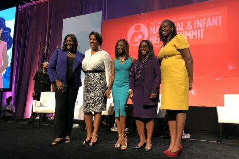 DC Mayor Bowser holds summit on maternal and infant health