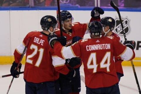 DeBrusk helps Bruins edge Capitals 3-2 in shootout
