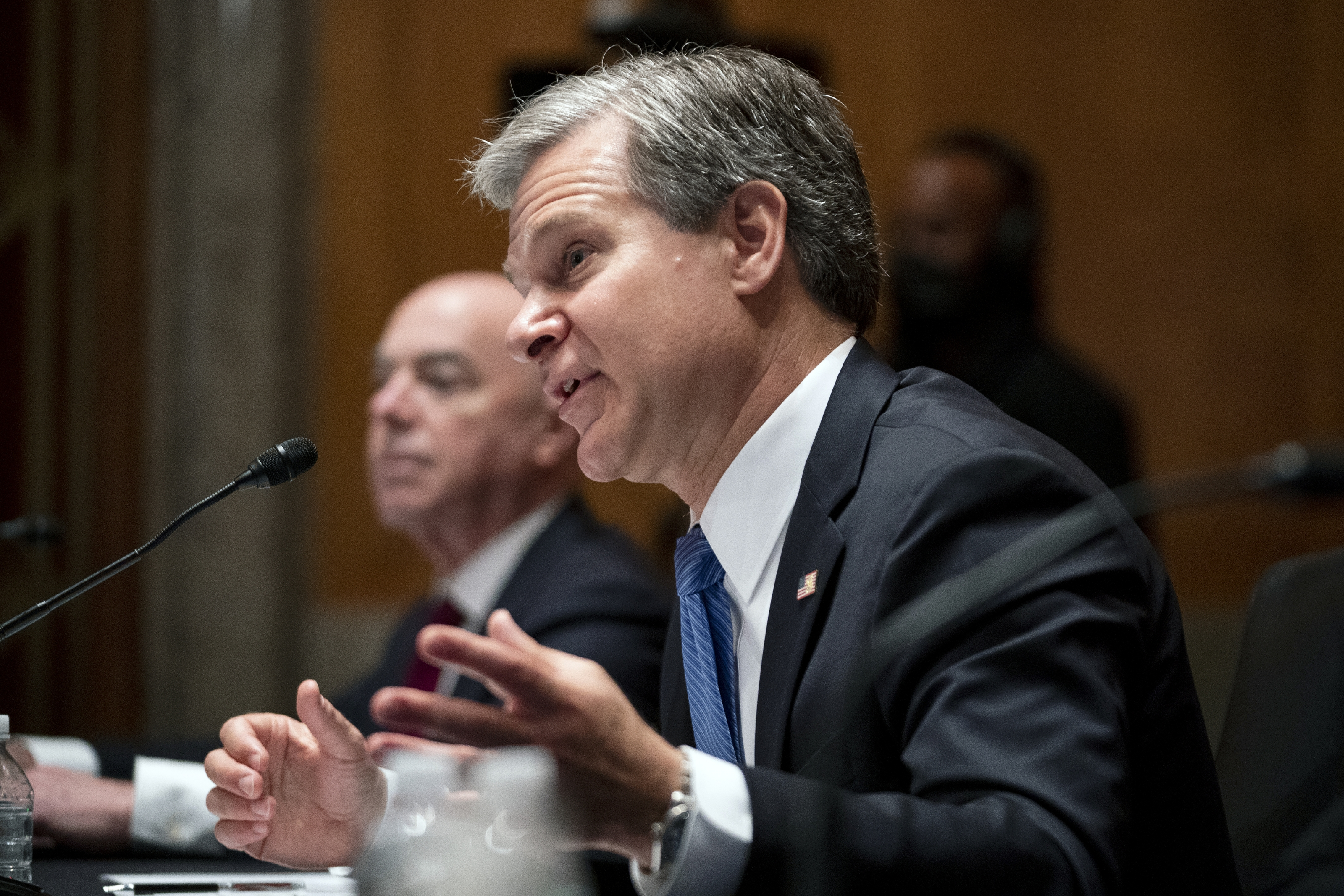 Wray: Afghanistan unrest could inspire extremism inside US