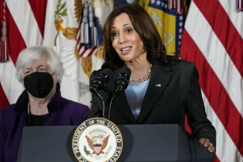 Harris 'View' interview delayed, hosts positive for COVID-19