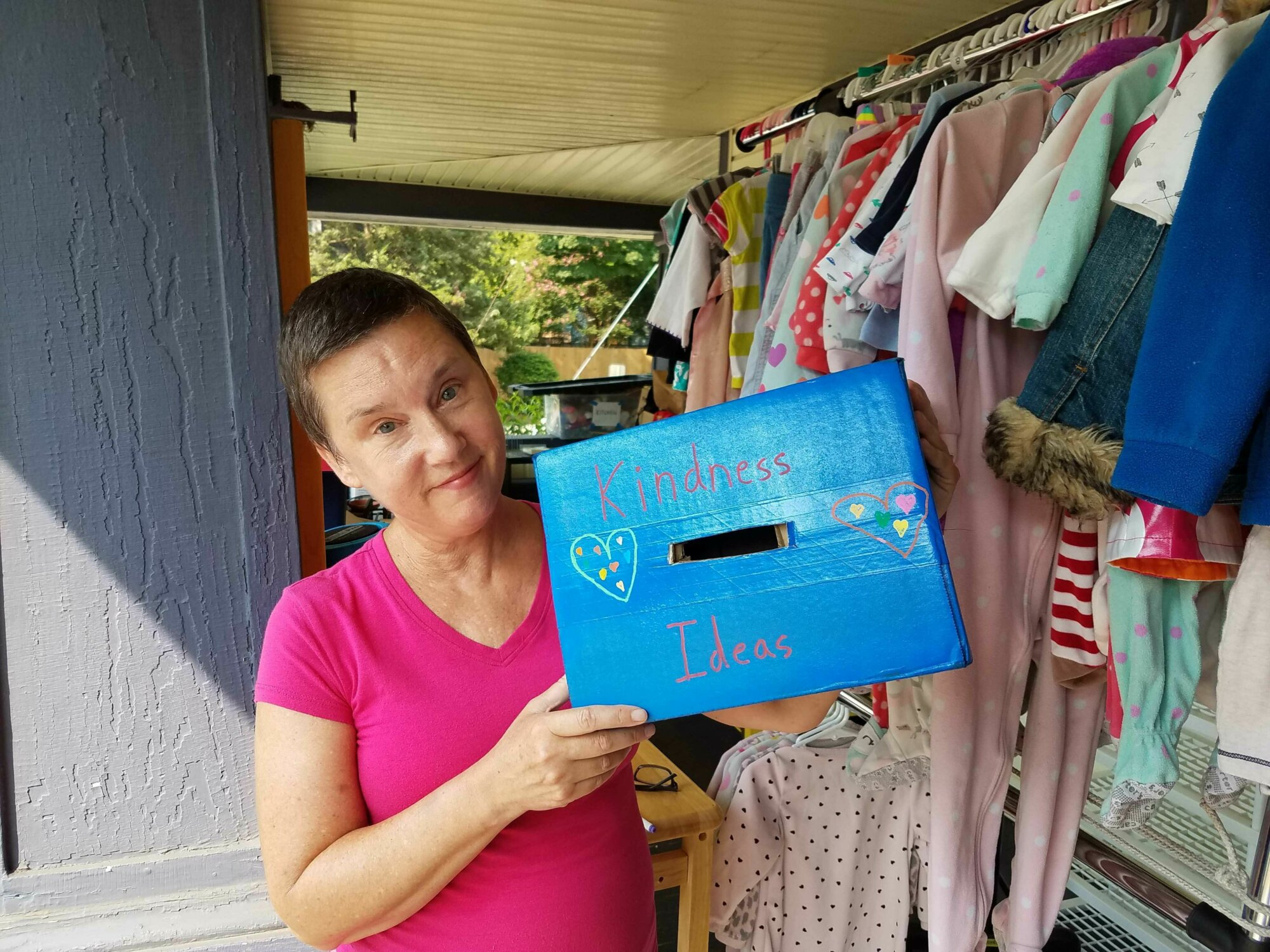 Where do you find kindness? How about at an Arlington yard sale?