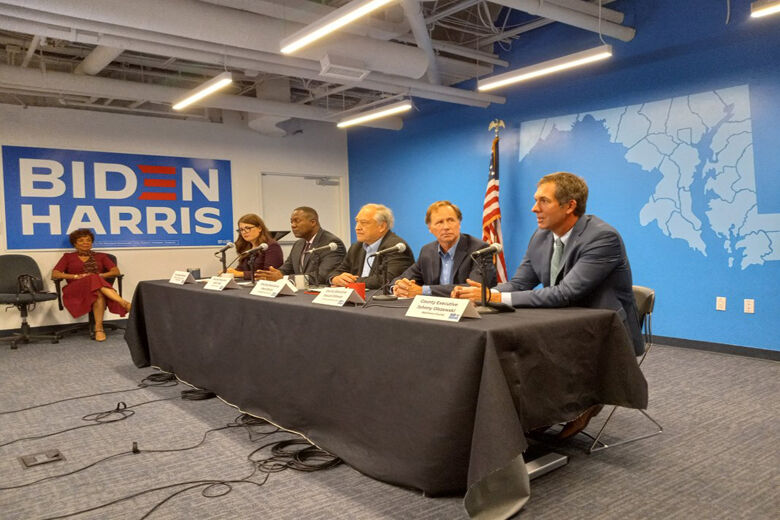 Md. county executives: 'Healthy competition' can drive local policies on climate change