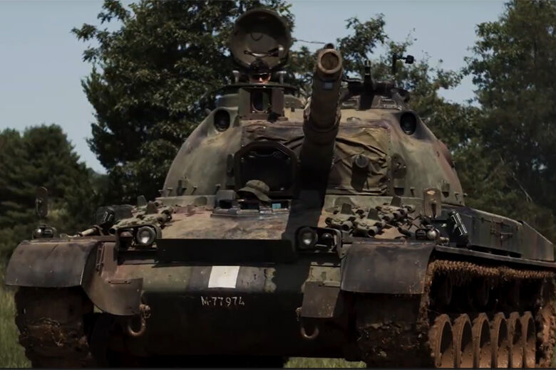 Tank farm open house offers up-close look at Americans in wartime experience