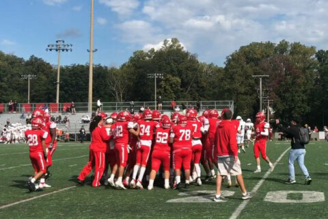 Annandale Atoms pull out win after nearby shooting had suspended Friday's game