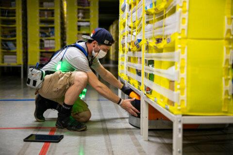 Virginia, Maryland among top states for 150,000 seasonal Amazon jobs