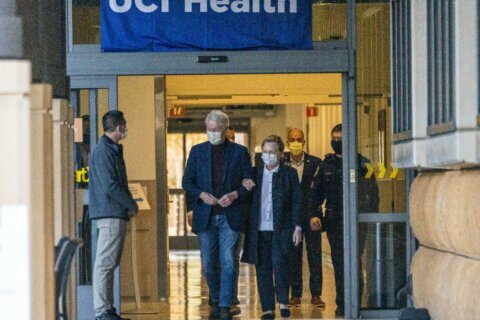 Clinton, on the mend, 'touched by the outpouring of support'