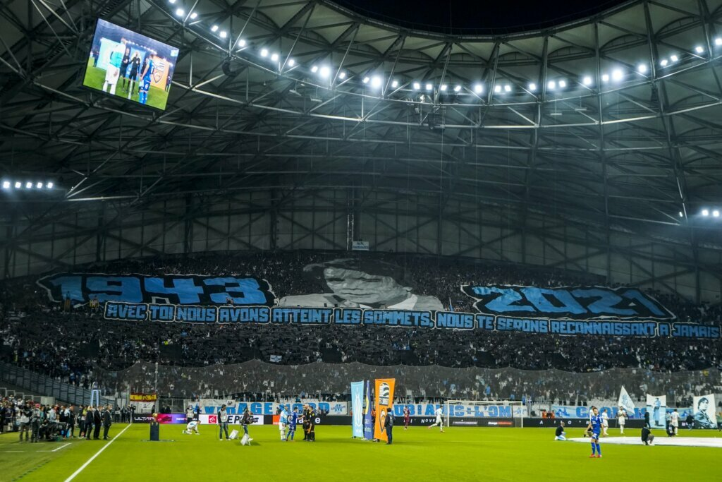 Marseille fans pay tribute to their Tapie tribute, Lens and Nice lose