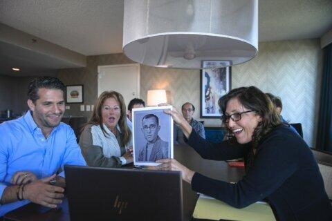 A moving 'reunion' for descendants of Holocaust survivors