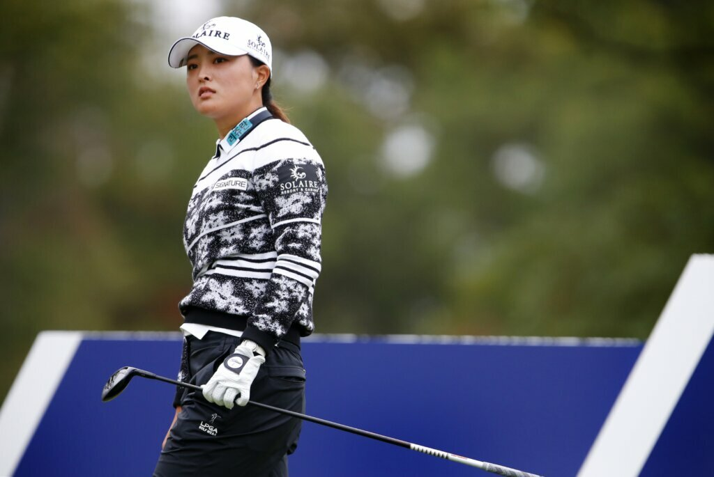 Ko is missing the record as the South Koreans pack the LPGA rankings in Busan