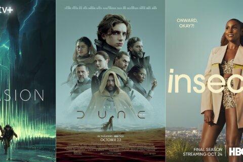 New this week: 'Dune,' 'Invasion' and an Elton John album