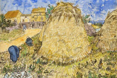 Van Gogh artwork looted by Nazis to be auctioned in New York