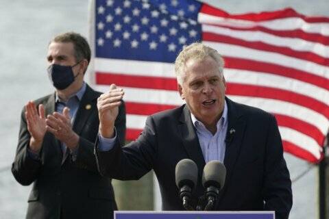 Biden returning to Va. next week to campaign with McAuliffe
