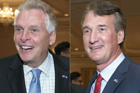 McAuliffe outraises Youngkin in Virginia governor's race